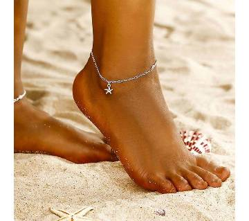 Starfish Pendant Anklet