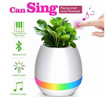 Bluetooth Music flowerpot