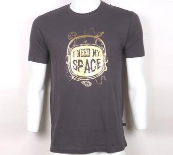 I Need My Space মেনজ হাফ-স্লিভ টি-শার্ট