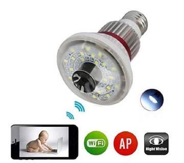 Spy Light Wi-Fi IP Camera Night Vision
