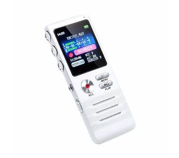 8GB ডিজিটাল HD ভয়েস রেকর্ডার উইথ MP3 প্লেয়ার