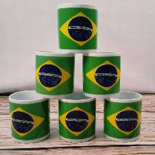 Brazil Printed Mug 1 Pcs