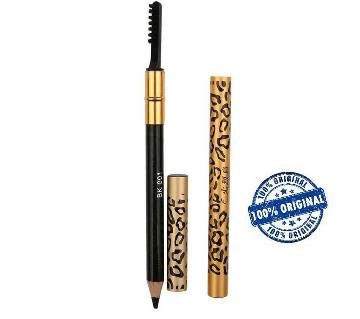 Leopard hardcore Flamingo eyebrow pencil and brush