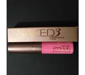 NAKED3 URBAN DECAY (Waterproof Moisture Lip Gloss-02) 10ml USA