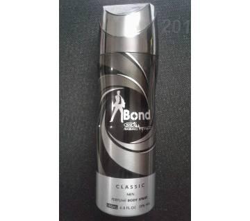 Bond Classic Men Perfume Body Spray 200 ml