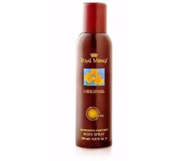 Royal Mirage Body Spray For Men