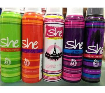 She Body-sprays For Women - 120 ml
