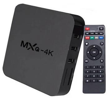 MXQ 4K অ্যান্ড্রয়েড স্মার্ট TV বক্স