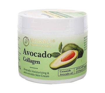 Wokali Avocado Collagen Moisturizing & Anti-wrinkle Skin Cream-115gm-China