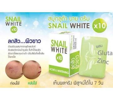 Snail হোয়াইট সোপ 10X whitening