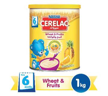 Nestle Cerelac Wheat And Fruits Baby Cereal