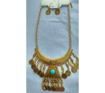 Tribal Style Necklace With Earring