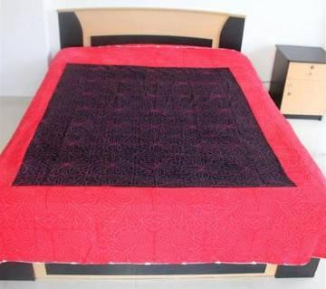 Double size Nakshi Kantha Style Bed Sheet set