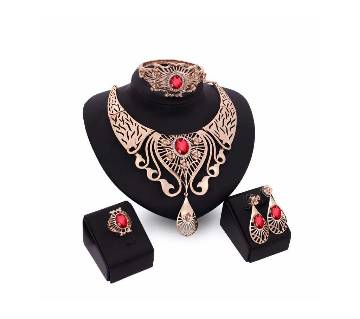 Gold Plated Complete Jewelry Set