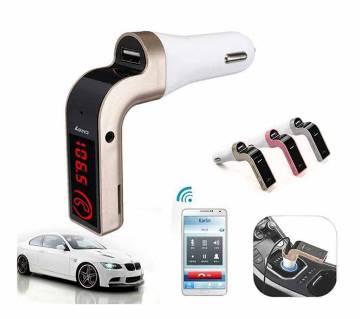 CAR G7 Bluetooth FM Transmitter MP3 Music Player