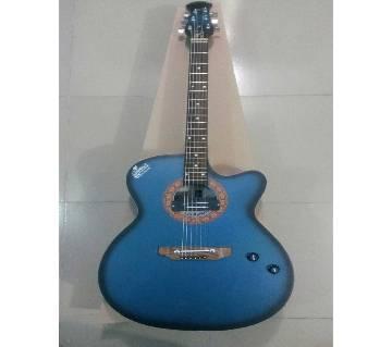 Signture blue black burst semi electric গিটার