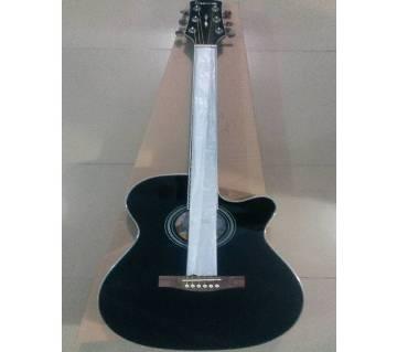 Custom black গিটার