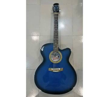 signature blue black burst অ্যাকুইস্টিক গিটার