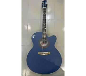 signature blue matte অ্যাকুইস্টিক গিটার