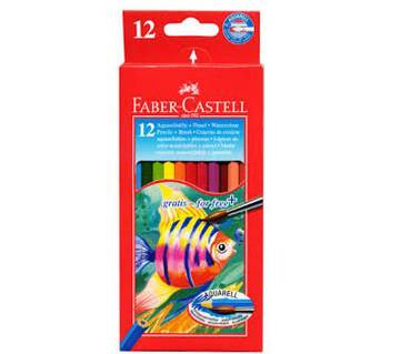 Faber castell 12 colors pencils
