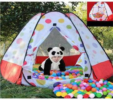 Dot toy tent