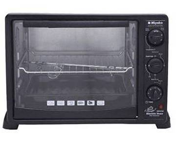 Miyako black electric oven