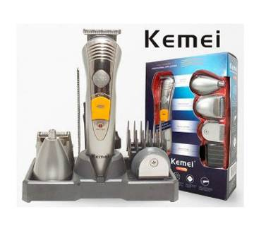 Kemei rechargeable 7 In 1 shaver and trimmer