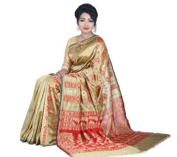 টাঙ্গাইল সিল্ক জামদানি শাড়ী