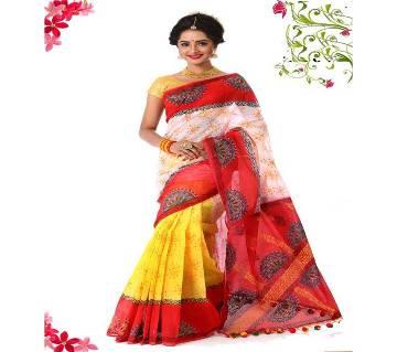 Muslin Silk Sharee For Falgun