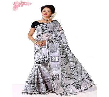 Block Printed Cotton Sharee