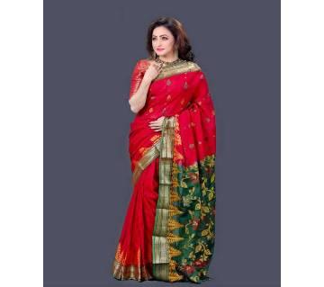 Tangail mashlaish cotton handloom sharee