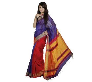 Multi Color Tangail silk sharee