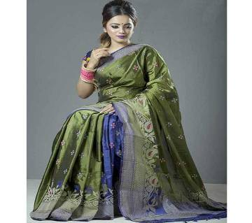 Tangail Silk Jamdani Sharee