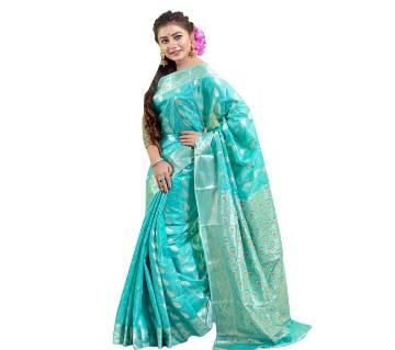 Tangail Silk Jamdani Saree