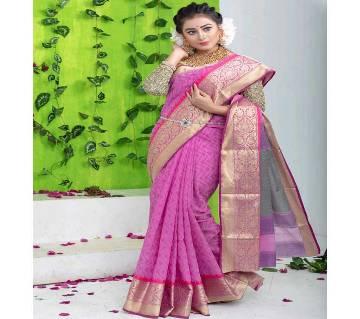 Tangail Silk (Katan) Saree