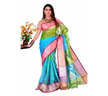 Tangail silk jamdani handloom sharee