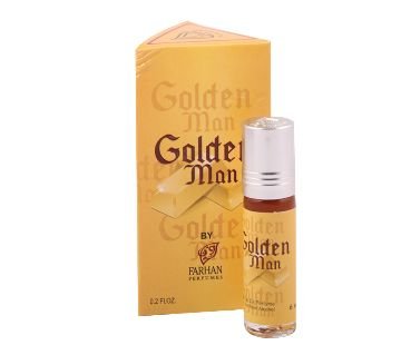 golden man Roll on attar 6 ml- france