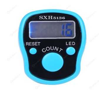 Tally Counter - LCD (Finger-Held)  LED