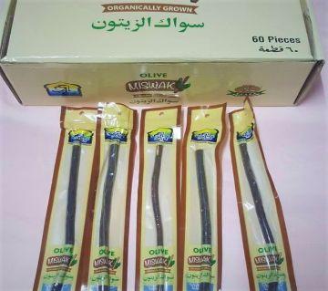 al khair olive miswak-12pcs