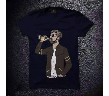 Menz Cotton Round Neck T-Shirts