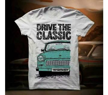 Drive The Classic মেনজ রাউন্ড নেক টি-শার্ট