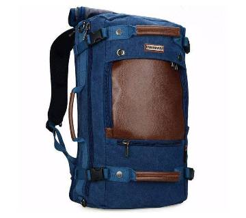 Witzman PU leather travel back pack
