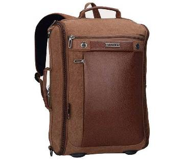Witzman canvas travel back pack