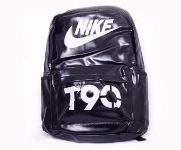 Artificial leather campus backpack