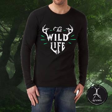 Wild Life লং-স্লীভ টি-শার্ট