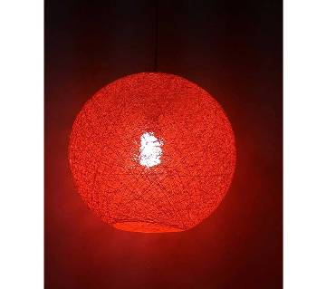 Hanging Cotton Ball Lamp For Home Decor