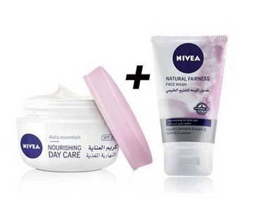 Nivea Day care cream- facewash free