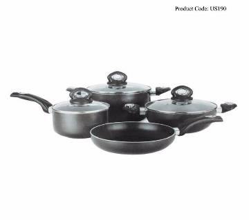 Non- stick coating cooking set 7 pieces