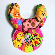 Soft Baby Pillow With Toys
