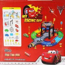Cars 2 Parking Garage Toy Set